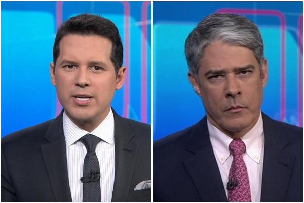 Globo mira em Dony para assumir lugar de William Bonner no JN