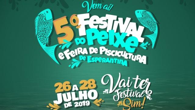 Festival do Peixe acontece de 26 a 28 de julho em Esperantina