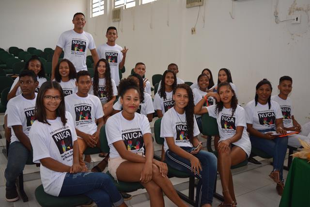 NUCA realiza ação sobre práticas de combate ao racismo em Francinópolis