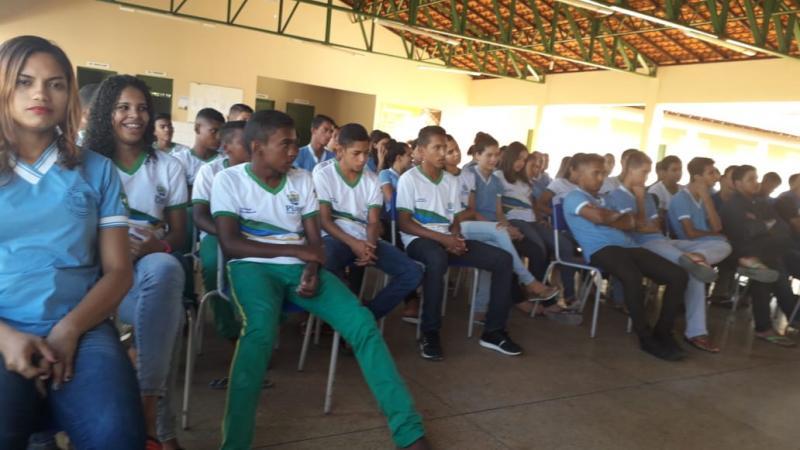 SMS, PSE e SELO UNICEF realizam ação preventiva em Olho D'água