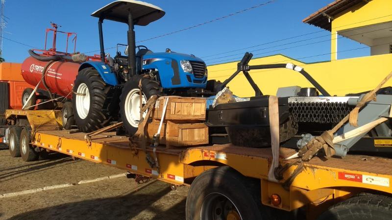 Prefeitura de Lagoinha recebe Kit Agrícola para o município