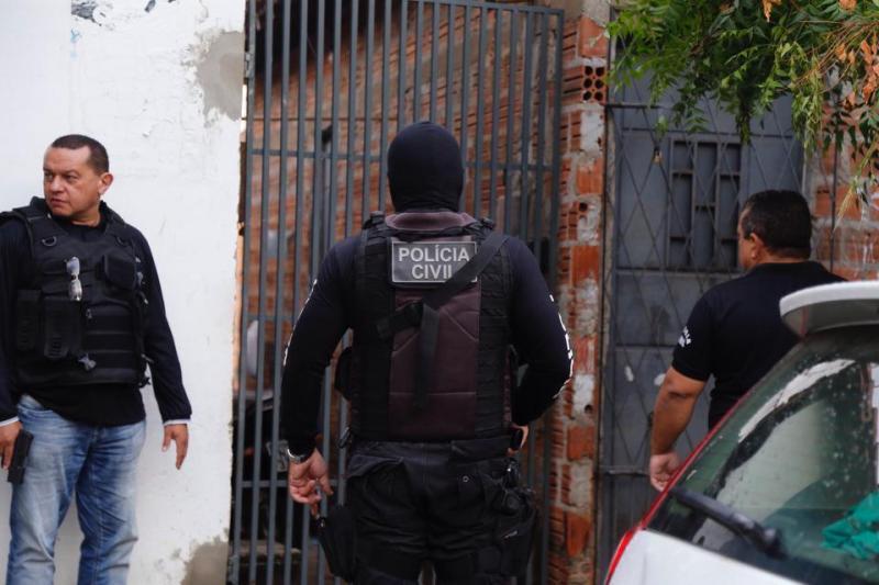 Polícia Civil prende mais de 30 pessoas durante operação em todo o Piauí