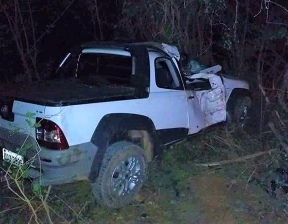 Veículo capota e jovem fica gravemente ferido no Piauí