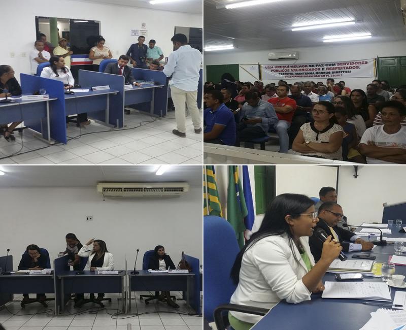 Vereadores rejeitam projeto e impedem concursos na Prefeitura de Uruçuí