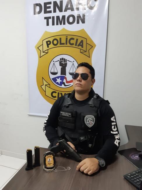 Polícial Civil disputará um assento no legislativo timonense em 2020