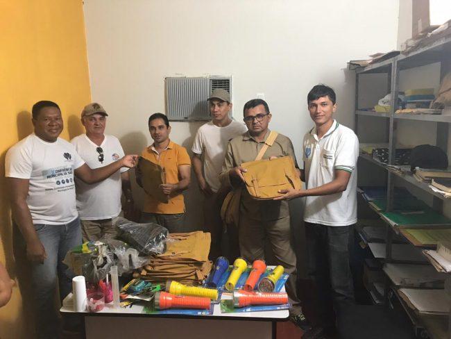 Saúde entrega novo material de trabalho aos Agentes de Endemias em Porto