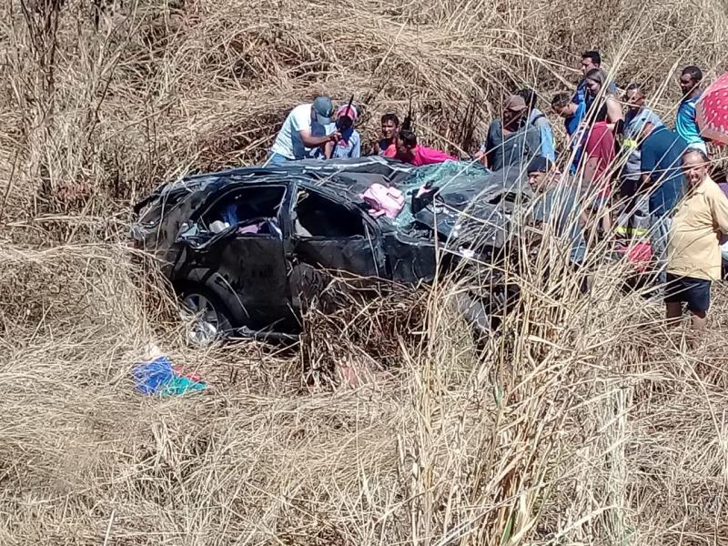 Grave acidente com vítimas fatais na BR-135, Monte Alegre-PI