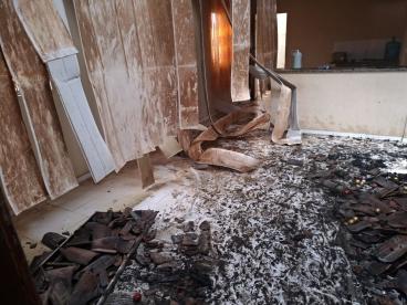 Incêndio destrói residência de empresário no Piauí