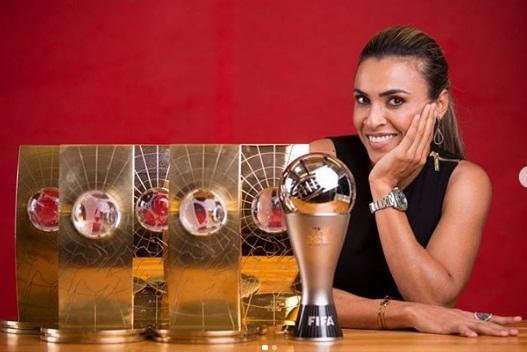 Marta será homenageada com prêmio de impacto social pela MTV