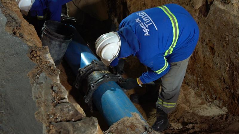 Projétil de escovação interna limpa 2 km das tubulações de Timon