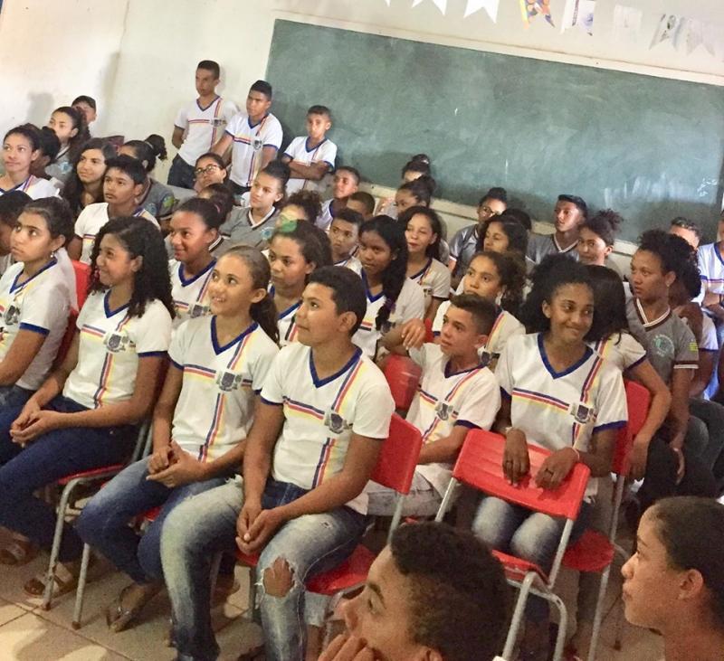 Nasf esteve em atividade do Programa Saúde na Escola em Francisco Ayres