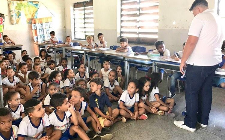 Nasf realizou atividades Físicas e Lazer do Programa Saúde na Escola