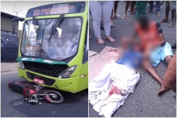 Casal suspeito de assaltos sofre acidente na zona norte de Teresina