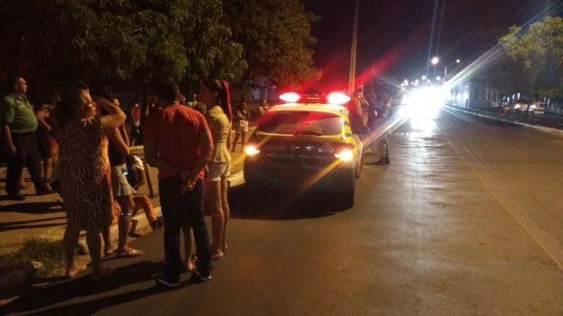 Passageiros pulam de ônibus para escapar de assalto em Teresina