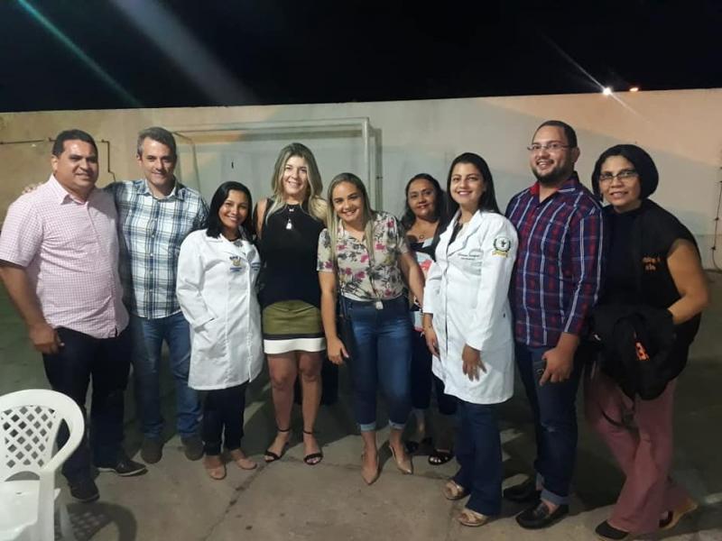 Secretaria mun. da saúde realiza ação social durante festividades culturais