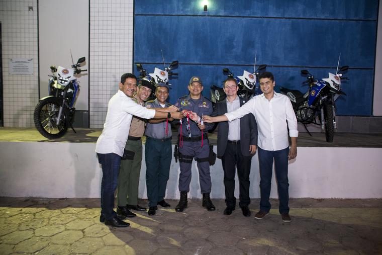 Timon ganha mais 5 motos para ronda ostensiva