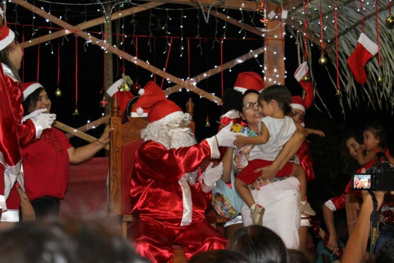 Prefeitura de Lagoinha do Piauí realiza ação de natal para crianças
