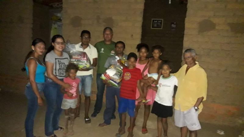 GPM e amigos entregaram Cestas Básicas para Famílias em Agricolândia