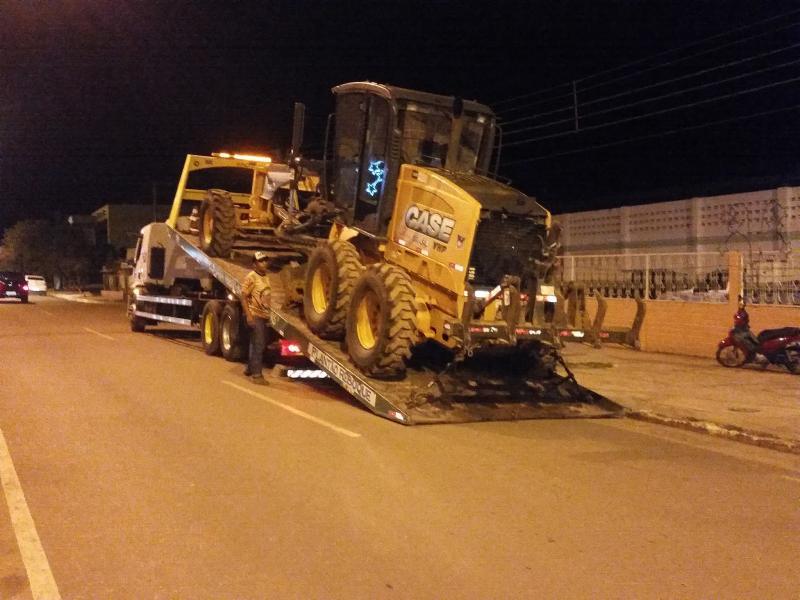 Prefeitura Municipal de Uruçuí recebe máquina reformada