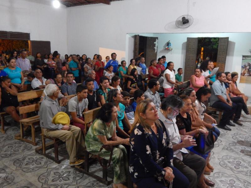 Capela de Uruçus de Pau D'arco celebra missa com autoridades locais e regionais