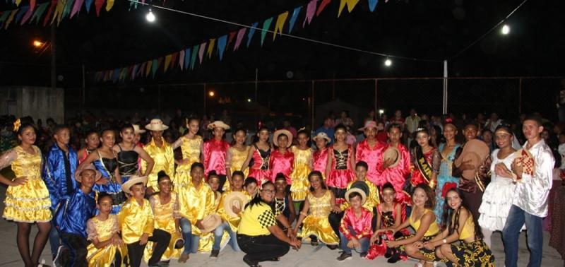 Escola Municipal Francisco Crisanto realiza XV Arraiá