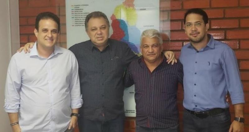 Prefeito Diego Teixeira visita secretarias de estado em busca de Melhorias