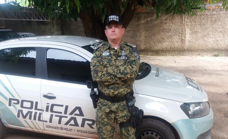 Capitão da PM é derrubado de viatura por preso no Piauí