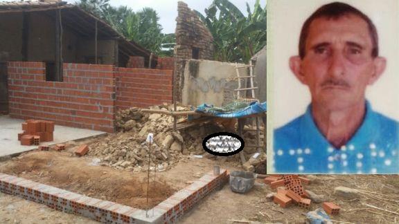 Idoso morre após parede de residência desabar no Piauí