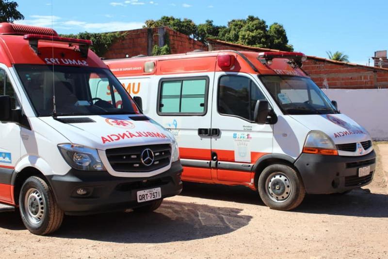 Município de Corrente recebe novas ambulâncias para o SAMU
