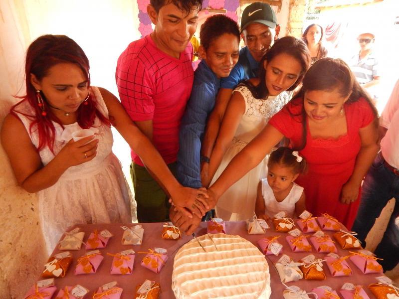 Prefeitura de Cristino Castro realizou Casamento Comunitários na Zona Rural