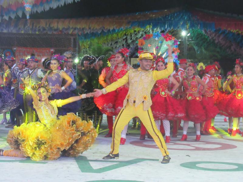Confira como foi a primeira noite do XV Festival Cultural dos Cocais