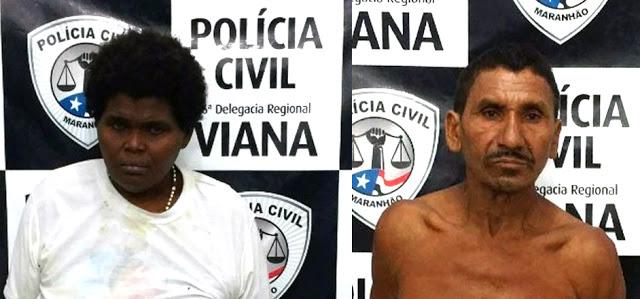 Casal é preso acusado de estupro de vulnerável no MA