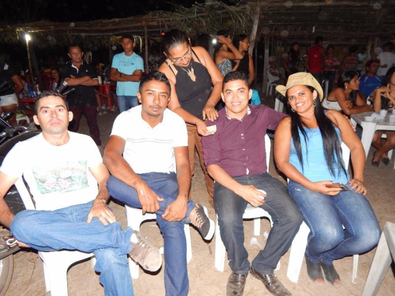 Festa de encerramento das atividades do povoado Uruçus em Pau D´arco