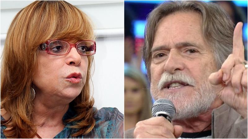 Glória Perez troca farpas com José de Abreu: 'você é muito canalha'