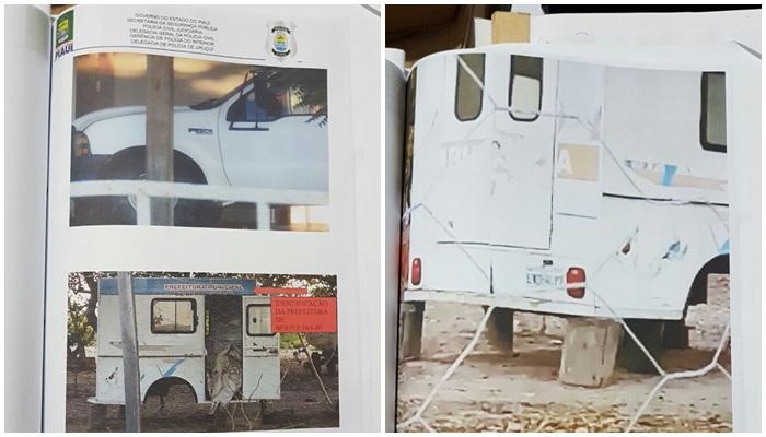 Polícia encontra ambulância usada por prefeito do Piauí para pagar dívida