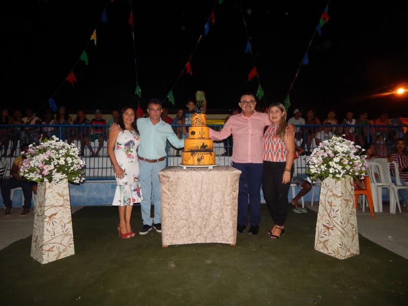 Beneditinos realiza linda festa cultural em seu aniversario