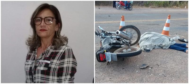 Professora morre em acidente na BR-020 no Piauí