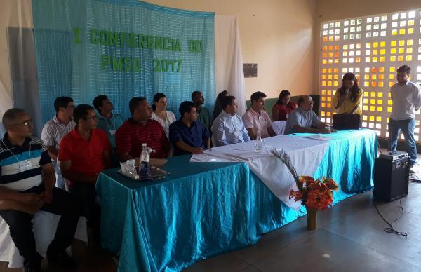 Conferência do Plano Municipal de Saneamento Básico é realizada em Landri Sales