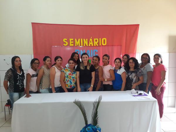 Secretaria de Educação realiza Seminário do PNAIC 2017 em Landri Sales