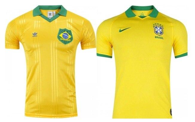 Camisa verde e amarela da Adidas configura concorrência desleal com a Nike