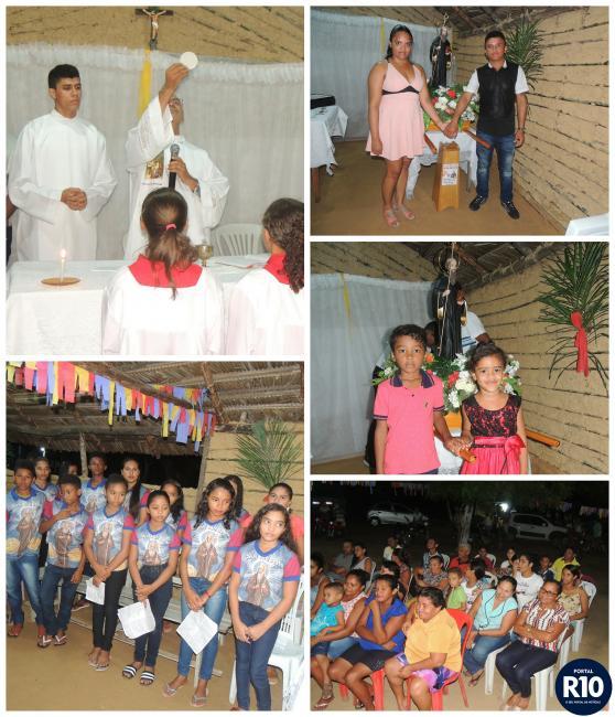 Penúltima noite nos festejos de São Bento no povoado Silva
