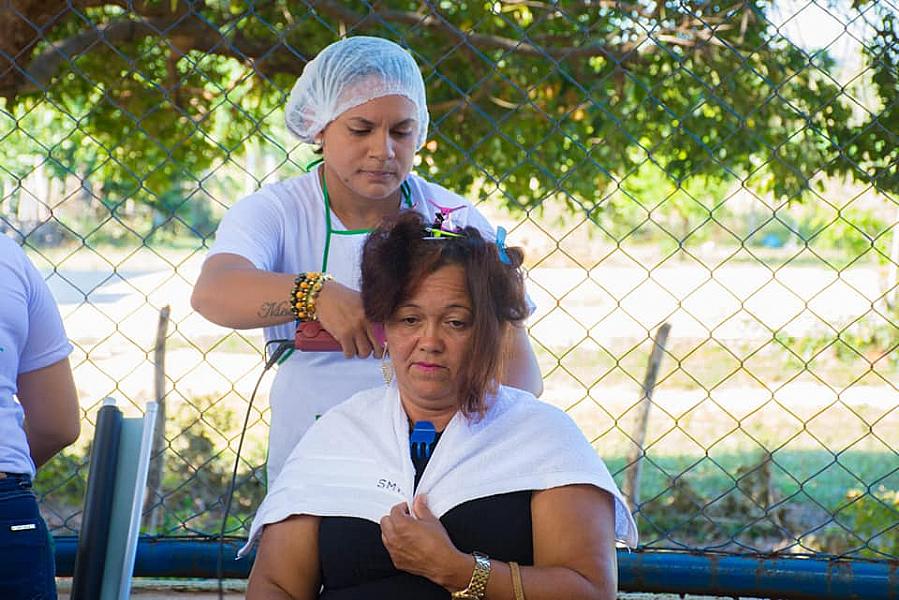 Confira a ação realizada na zona rural de Buriti dos Lopes