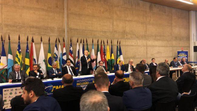 Prefeito Dó Bacelar participa de Mobilização em Brasília