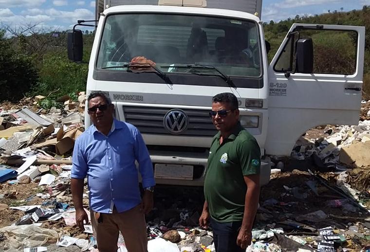 Caminhão é apreendido em blitz da Secretaria de Meio Ambiente de Timon