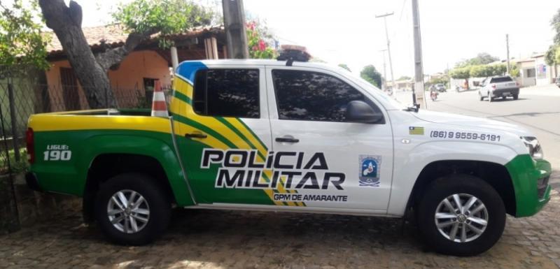 Amarante recebe nova viatura para GPM do município