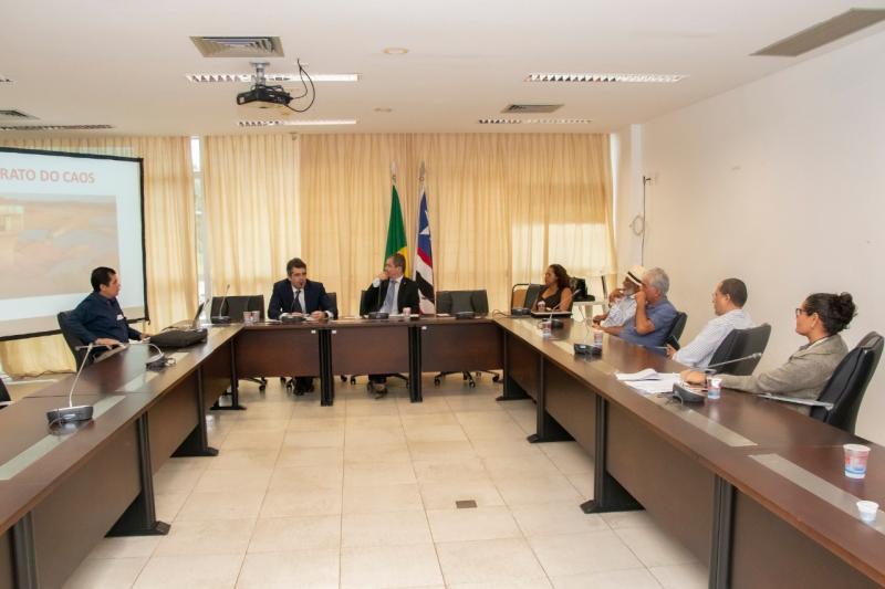 Comissão especial debate situação hídrica do Parque Estadual do Bacanga