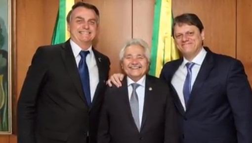Bolsonaro garante recursos para duplicações de rodovias no PI