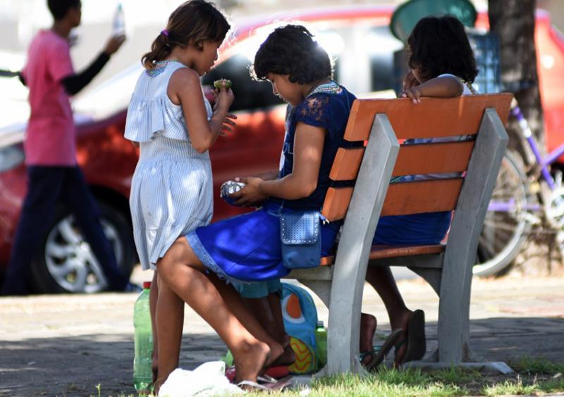 Mais de 50 venezuelanos foram retirados dos sinais de Teresina