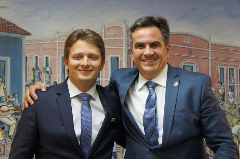 Prefeito Wilney Rodrigues esteve reunido com Ciro Nogueira em Brasília