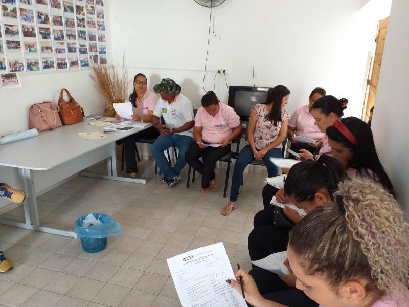 Reunião sobre o Projeto Rondon